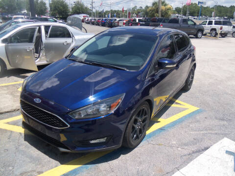 2016 Ford Focus for sale at ORANGE PARK AUTO in Jacksonville FL