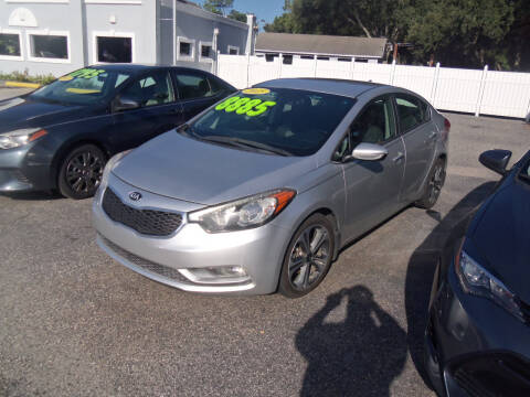 2015 Kia Forte for sale at ORANGE PARK AUTO in Jacksonville FL