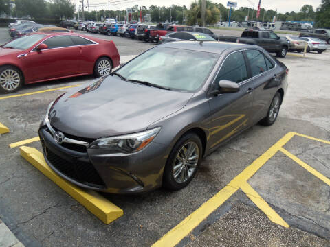 2017 Toyota Camry for sale at ORANGE PARK AUTO in Jacksonville FL