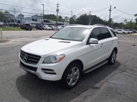 2015 Mercedes-Benz M-Class for sale at ORANGE PARK AUTO in Jacksonville FL
