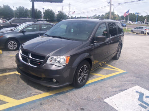 2017 Dodge Grand Caravan for sale at ORANGE PARK AUTO in Jacksonville FL