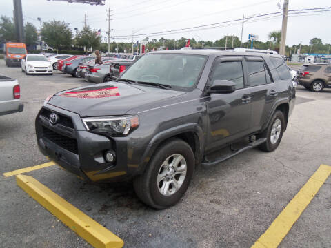 2015 Toyota 4Runner for sale at ORANGE PARK AUTO in Jacksonville FL