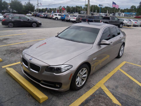 2016 BMW 5 Series for sale at ORANGE PARK AUTO in Jacksonville FL
