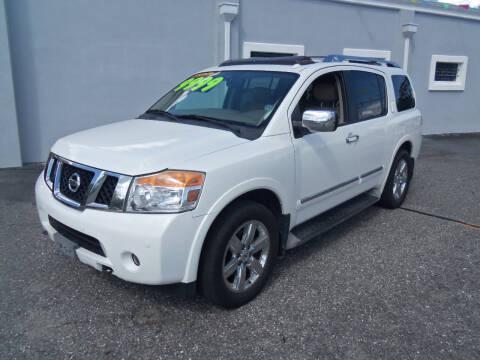 2011 Nissan Armada for sale at ORANGE PARK AUTO in Jacksonville FL