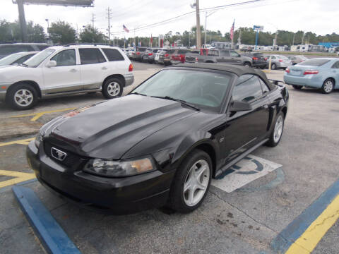 2002 Ford Mustang for sale at ORANGE PARK AUTO in Jacksonville FL