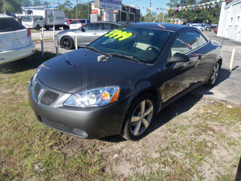 2007 Pontiac G6 for sale at ORANGE PARK AUTO in Jacksonville FL