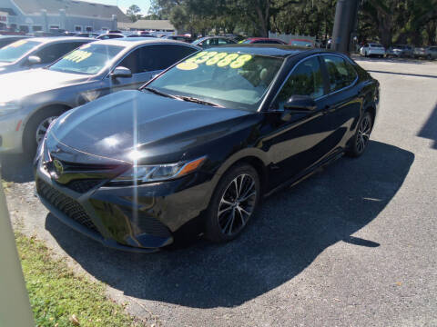 2019 Toyota Camry for sale at ORANGE PARK AUTO in Jacksonville FL