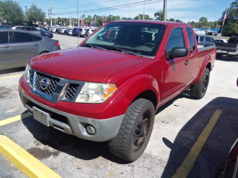 2010 Nissan Frontier for sale at ORANGE PARK AUTO in Jacksonville FL