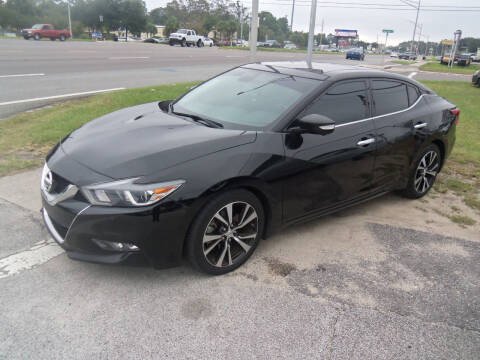 2017 Nissan Maxima for sale at ORANGE PARK AUTO in Jacksonville FL