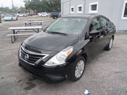 2018 Nissan Versa for sale at ORANGE PARK AUTO in Jacksonville FL