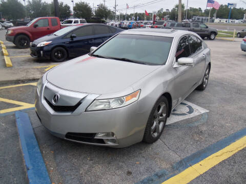 2011 Acura TL for sale at ORANGE PARK AUTO in Jacksonville FL
