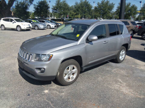 2016 Jeep Compass for sale at ORANGE PARK AUTO in Jacksonville FL