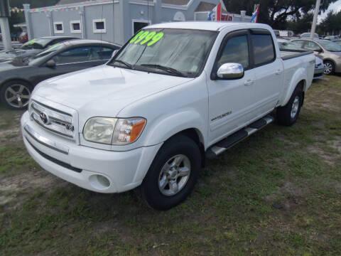 2005 Toyota Tundra for sale at ORANGE PARK AUTO in Jacksonville FL