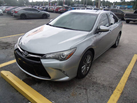 2015 Toyota Camry for sale at ORANGE PARK AUTO in Jacksonville FL
