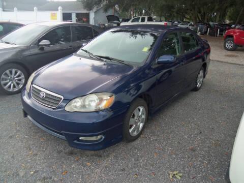 2006 Toyota Corolla for sale at ORANGE PARK AUTO in Jacksonville FL