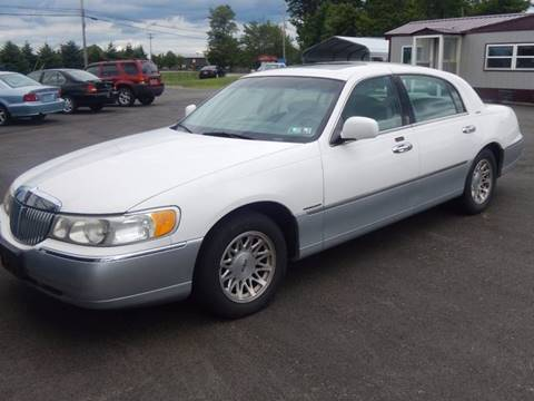 1999 Lincoln Town Car for sale in Ebensburg, PA