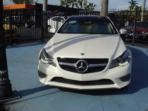 2014 Mercedes-Benz E-Class for sale in Pompano Beach FL