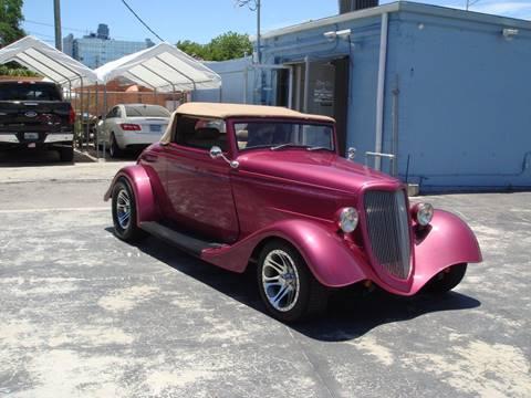 1934 Ford Roadster Convertable Retro-Mod for sale in Pompano Beach FL