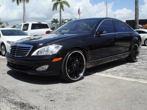 2007 Mercedes-Benz S-Class for sale in Pompano Beach FL