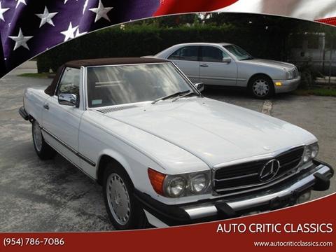 1989 Mercedes-Benz 560-Class for sale in Pompano Beach, FL