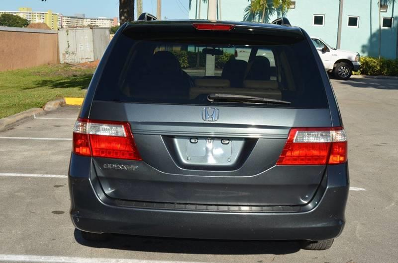 2006 Honda Odyssey for sale at Planet Automall in Hollywood FL