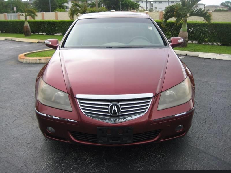 2007 Acura RL for sale at Planet Automall in Hollywood FL