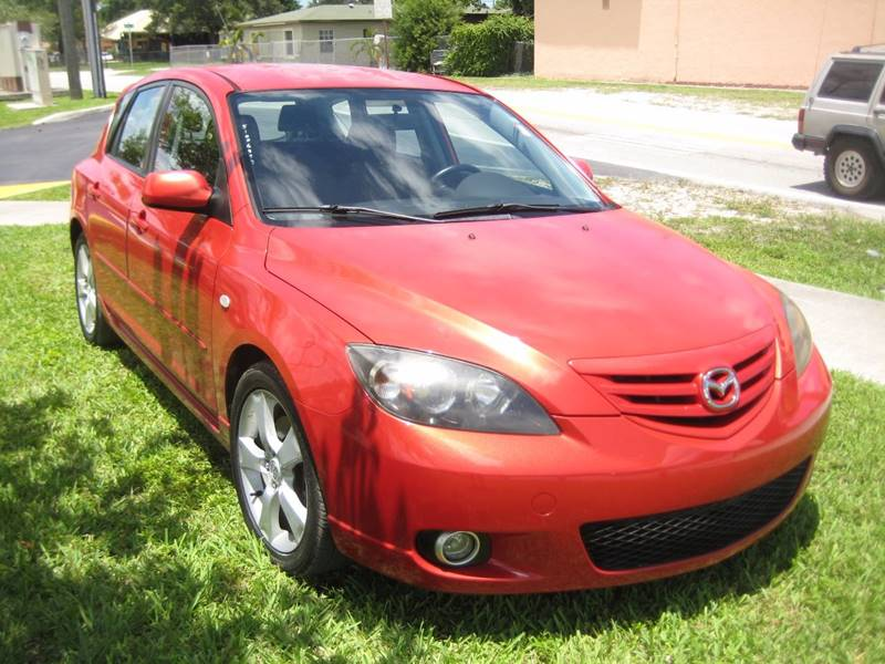 2004 Mazda MAZDA3 for sale at Planet Automall in Hollywood FL