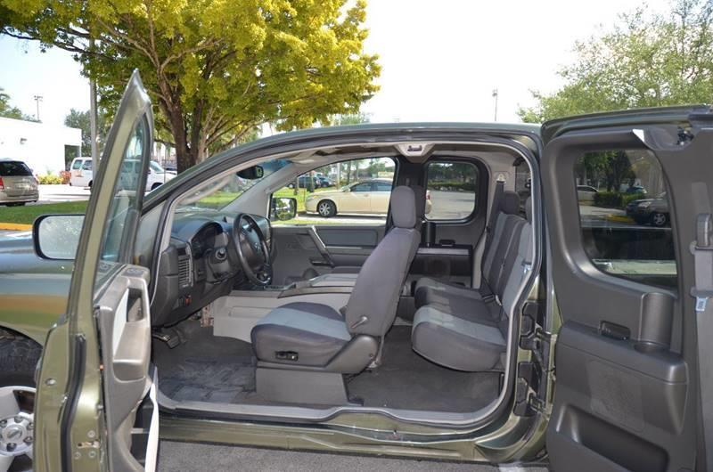 2004 Nissan Titan for sale at Planet Automall in Hollywood FL