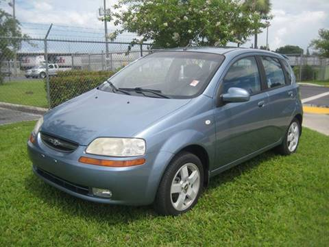 2006 Chevrolet Aveo for sale at Planet Automall in Hollywood FL