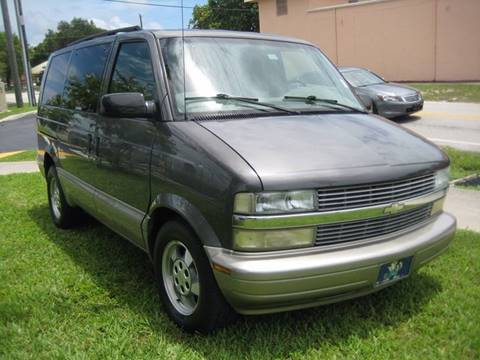 2003 Chevrolet Astro for sale at Planet Automall in Hollywood FL