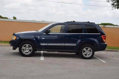 2005 Jeep Grand Cherokee for sale at Planet Automall in Hollywood FL