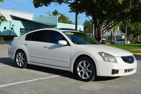2007 Nissan Maxima for sale at Planet Automall in Hollywood FL