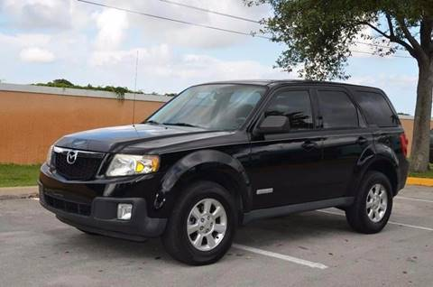 2008 Mazda Tribute for sale at Planet Automall in Hollywood FL