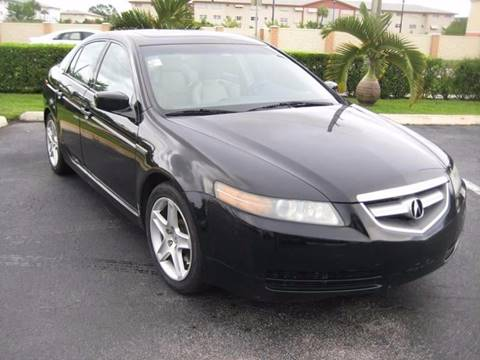 2006 Acura TL for sale at Planet Automall in Hollywood FL
