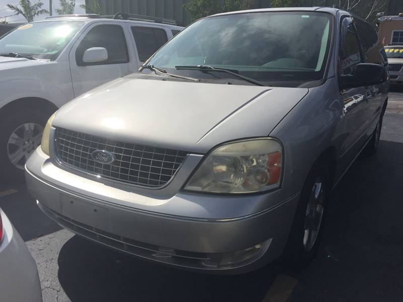 Ford Freestar SEL In Fort Lauderdale FL Planet Automall - 2006 freestar