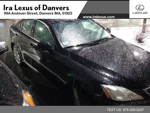 2008 Lexus IS 250 For Sale In Danvers, MA
