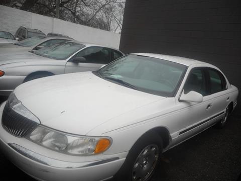 1999 Lincoln Continental for sale in Detroit, MI