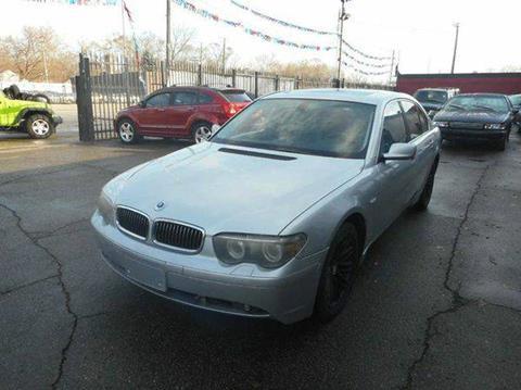 2004 BMW 7 Series for sale in Detroit, MI
