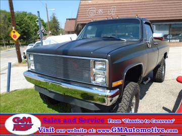 1983 GMC C/K 2500 Series for sale in Kingsville, MD