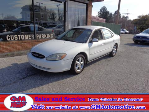 2000 Ford Taurus for sale in Kingsville, MD