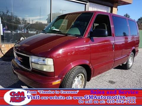 2005 GMC Safari for sale in Kingsville, MD