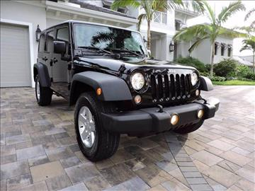 2015 Jeep Wrangler Unlimited for sale in Naples, FL