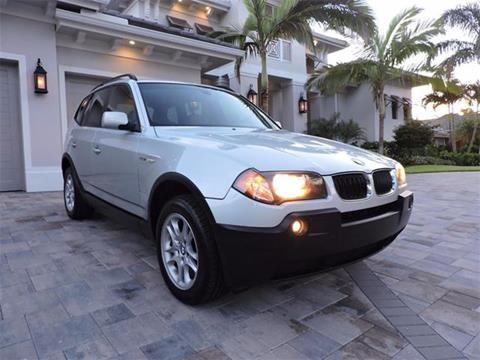 2004 BMW X3 for sale in Naples, FL