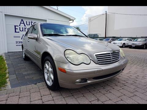 2003 Mercedes-Benz C-Class for sale in Naples, FL