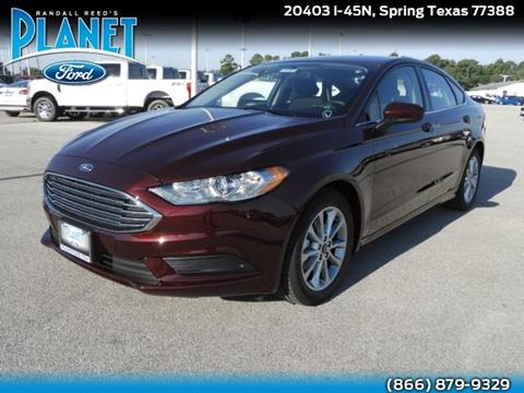 2017 Ford Fusion for sale in Spring, TX
