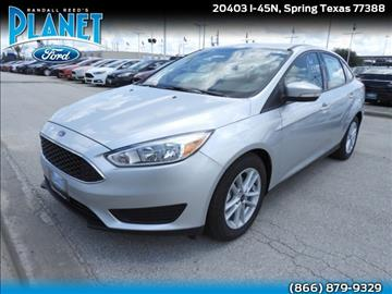 2017 Ford Focus for sale in Spring, TX