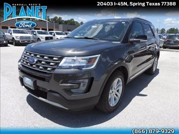 2017 Ford Explorer for sale in Spring, TX