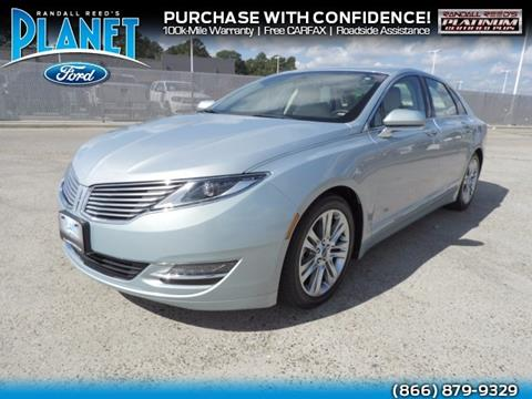 2013 Lincoln MKZ Hybrid for sale in Spring, TX