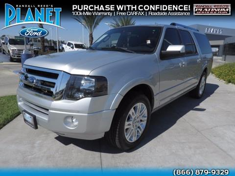 2014 Ford Expedition EL for sale in Spring, TX