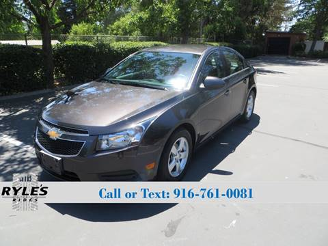 2014 Chevrolet Cruze for sale in Sacramento, CA
